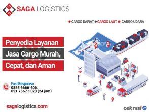 SAGA Logistics Penyedia Layanan Jasa Cargo Murah, Cepat, dan Aman