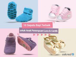 10 Sepatu Bayi Terbaik untuk Anak Perempuan Lucu dan Cantik