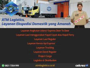 ATM Logistics, Layanan Ekspedisi Domestik yang Amanah