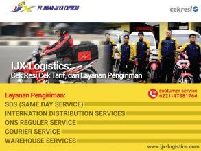IJX-Logistics: Cek Resi,Cek Tarif, dan Layanan Pengiriman