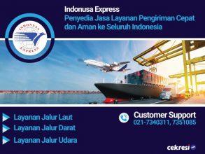 Indonusa Express Penyedia Jasa Layanan Pengiriman Cepat dan Aman ke Seluruh Indonesia