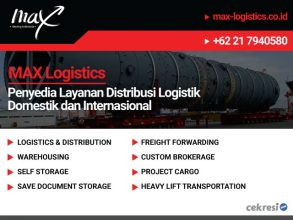 MAX Logistics Penyedia Layanan Distribusi Logistik Domestik dan Internasional