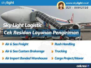 Sky Light Logistic: Cek Residan Layanan Pengiriman