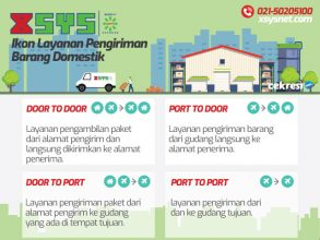 XSYS, Ikon Layanan Pengiriman Barang Domestik