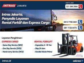 Intras Jakarta, Penyedia Layanan Rental Forklif dan Express Cargo