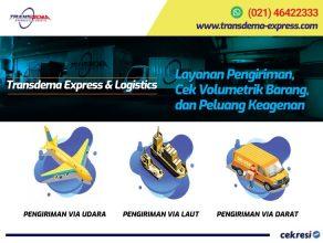 Transdema Express & Logistics: Layanan Pengiriman, Cek Volumetrik Barang, dan Peluang Keagenan