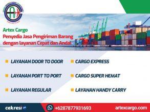 Artex Cargo Penyedia Jasa Pengiriman Barang dengan layanan Cepat dan Andal
