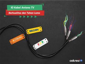 10 Kabel Antena TV Berkualitas dan Tahan Lama