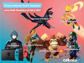 10 Game Nintendo Switch Terpopuler yang Wajib Dimainkan di Tahun 2021