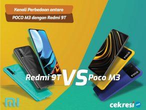 Kenali Perbedaan antara Xiaomi POCO M3 dengan Xiaomi Redmi 9T