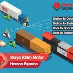 Berapa Ongkir Herona Express untuk Pengiriman Sepeda Motor?