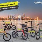 10 Rekomendasi Sepeda Lipat Murah dan Tahan Lama untuk Pekerja Kantoran