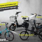 10 Sepeda Listrik Kualitas Juara yang Murah dan Ramah Lingkungan