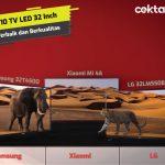 10 TV LED 32 Inch Terbaik dan Berkualitas