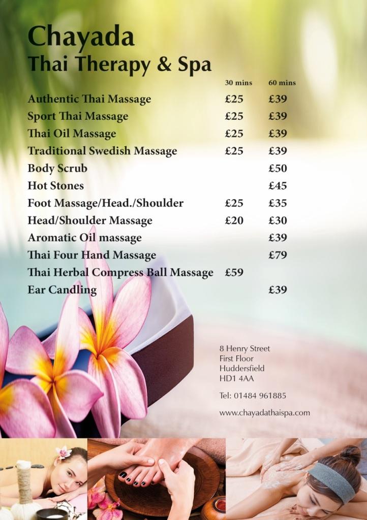 Chayada Thai Therapy Spa  Thai Massage Huddersfield 8