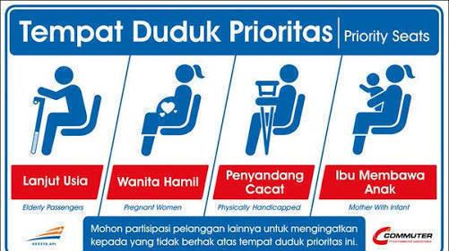 Petisi  Pengguna Commuter Line Jakarta Biarkan Kursi