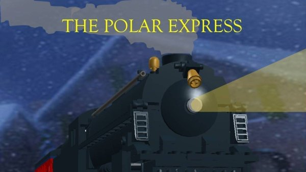 polar express lego train set # 18