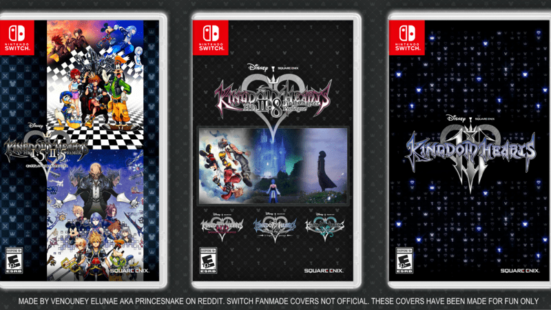 Petition Walt Disney Get The Kingdom Hearts Collection
