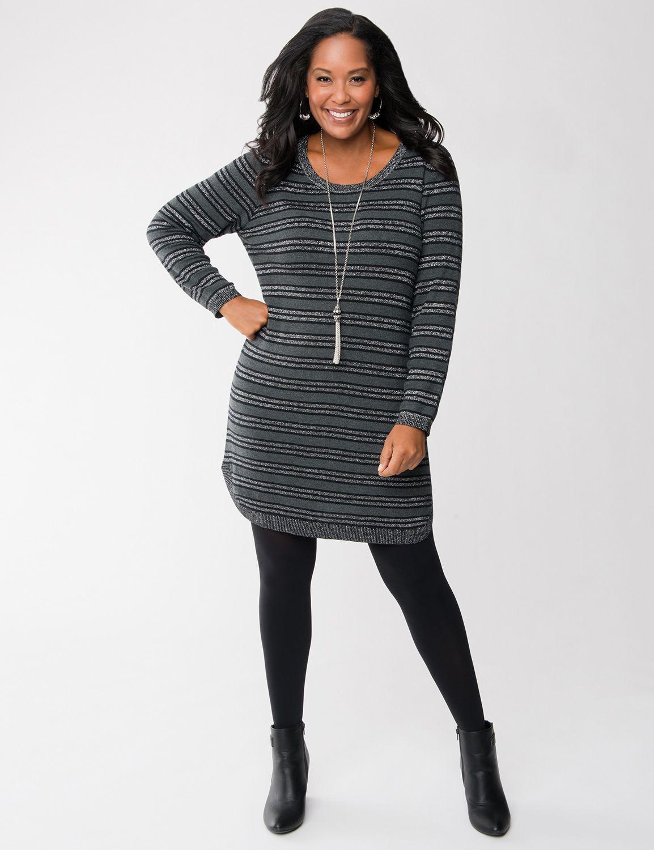 Lane Bryant Plus Size Sweater Dresses