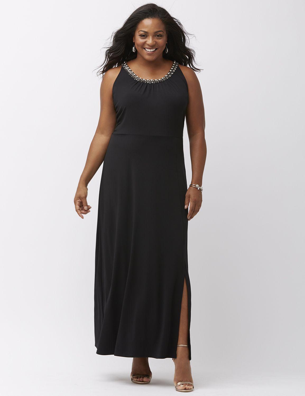 Lane Bryant Plus Size Black Dresses