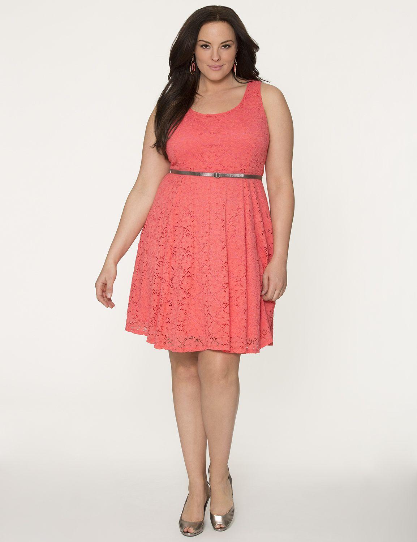 Lane Bryant Plus Size Lace Dresses