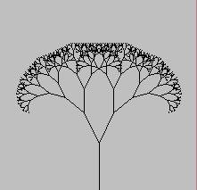 フラクタルツリー