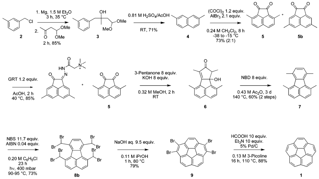 The Kg-Scale Synrhesis of Corannulene