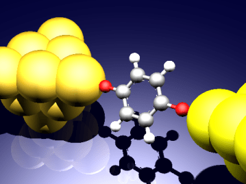 図1 単分子接合の概念図