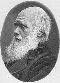 チャールズ・ダーウィン ( 1809 - 1882)