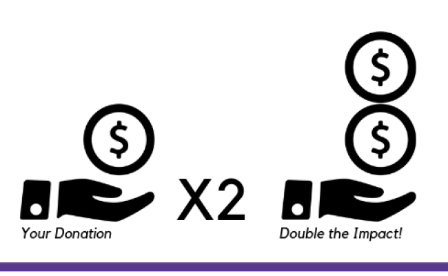 Double The Impact Matching Gift Campaign