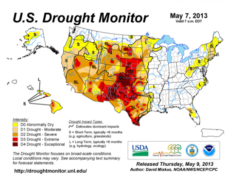 Jet Stream Enhances Drought In West Midwest Relief