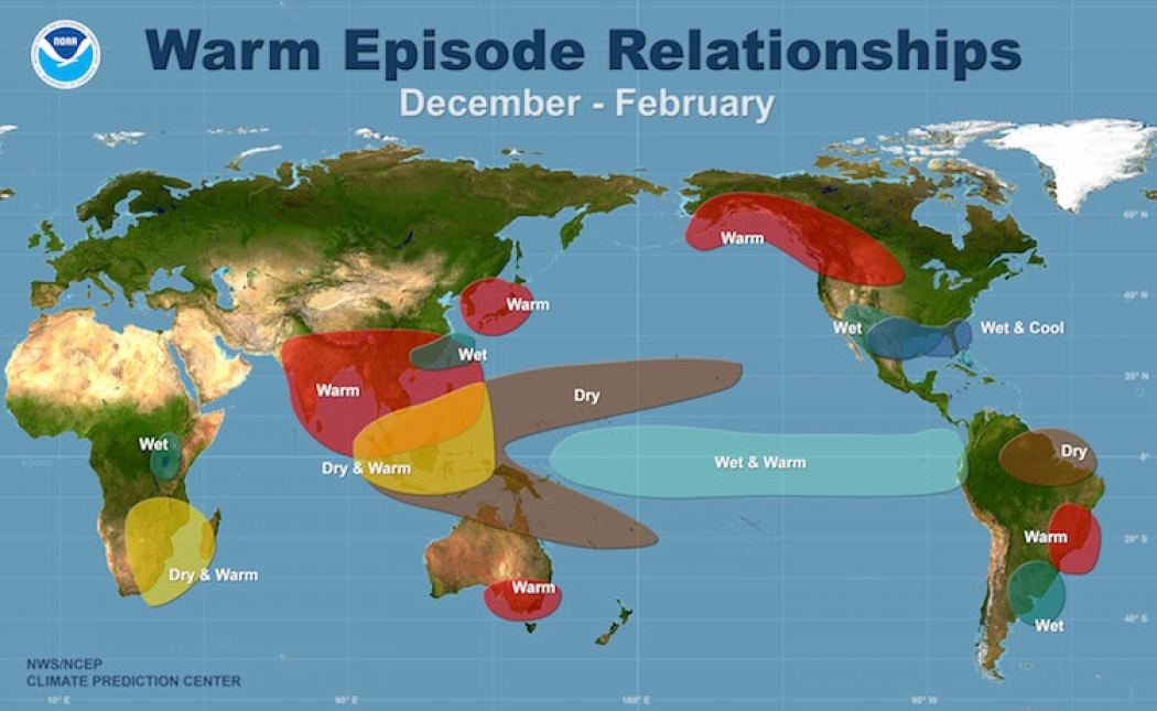 Where Is El Nino And Why Do We Care Climate Central