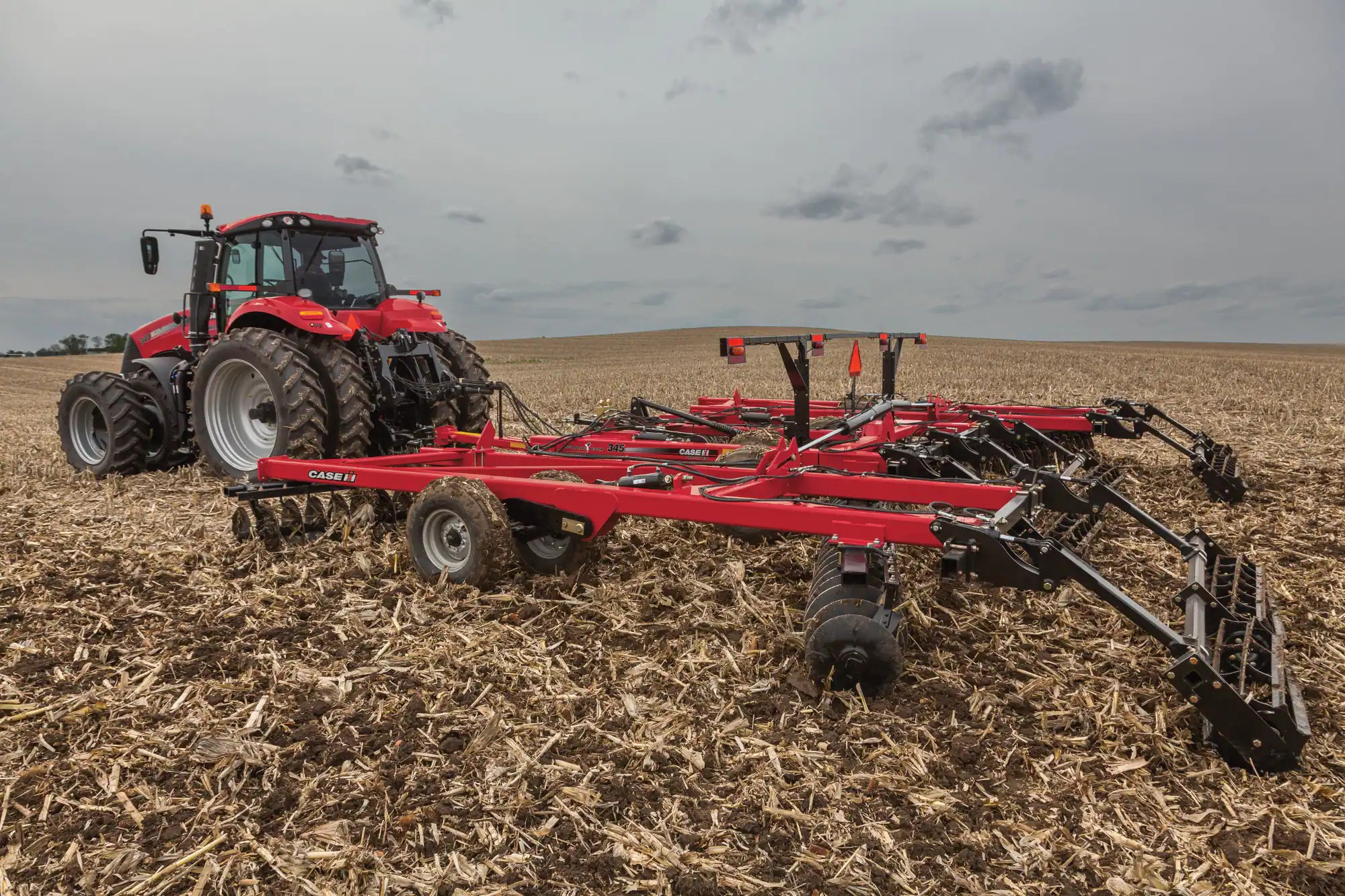 hight resolution of true tandem 345 disk harrow