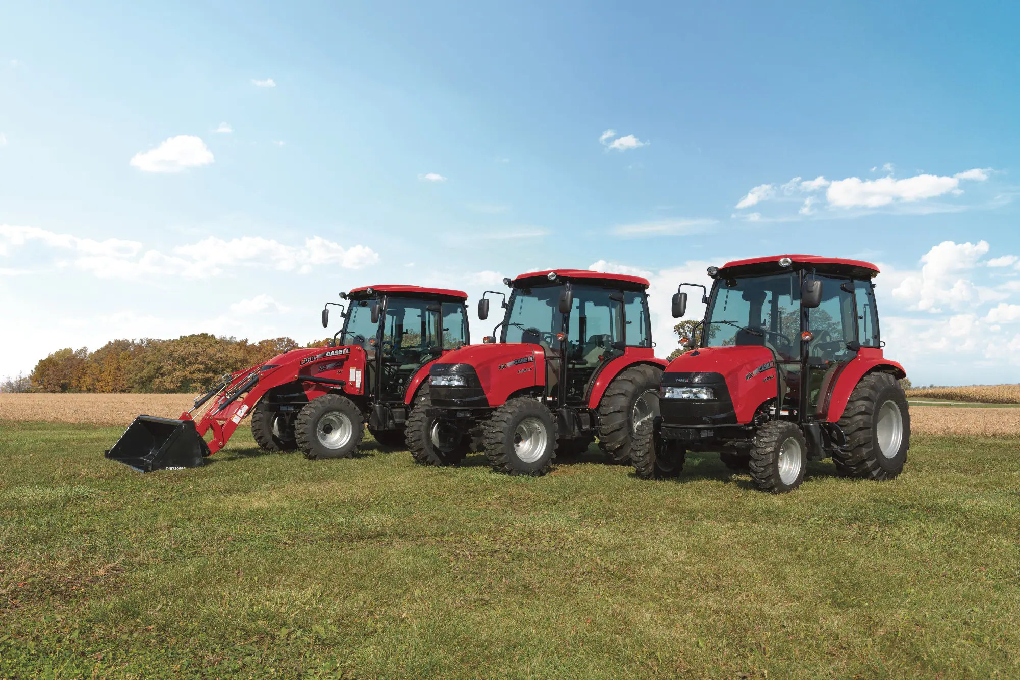 hight resolution of a compact tractor at a compact price without sacrificing features