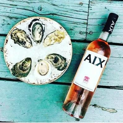 Aix Provence Ros. Photo Wine Park