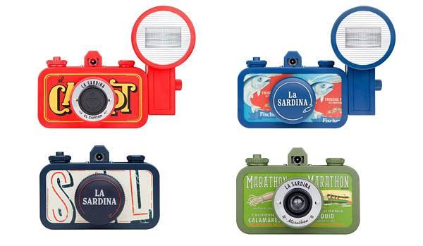 Lomopedia: กล้อง Lomography La Sardina · Lomography