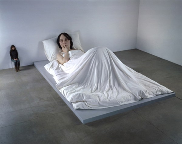 Ron Mueck In Bed - Cool Hunting