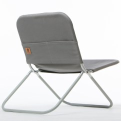 Folding Chair Jokes Brown Leather Club Recliner Shape Field Cool Hunting