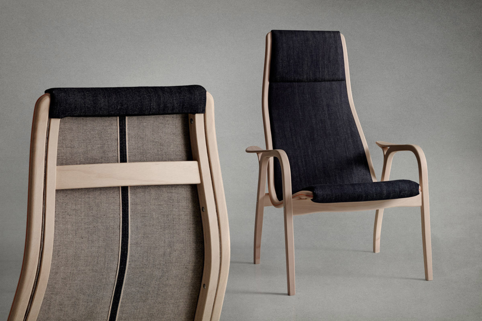Denim Chairs Nudie Jeans 43 Swedese Lamino Cool Hunting