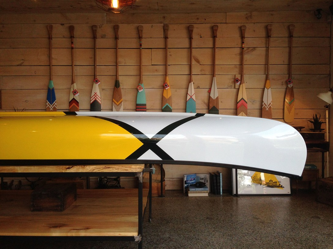 abitibi & co and Norquay Limited Edition Canoes