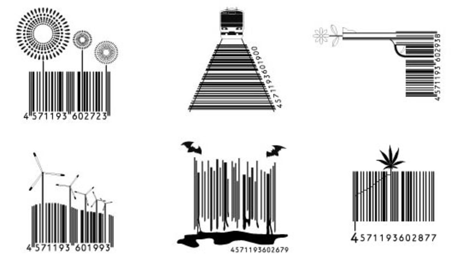 Japanese Barcode Design Cool Hunting