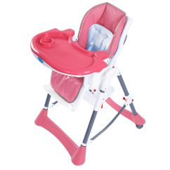 Portable Folding High Chair Bistro Chairs Dining Room Baby Toddler Feeding Seat