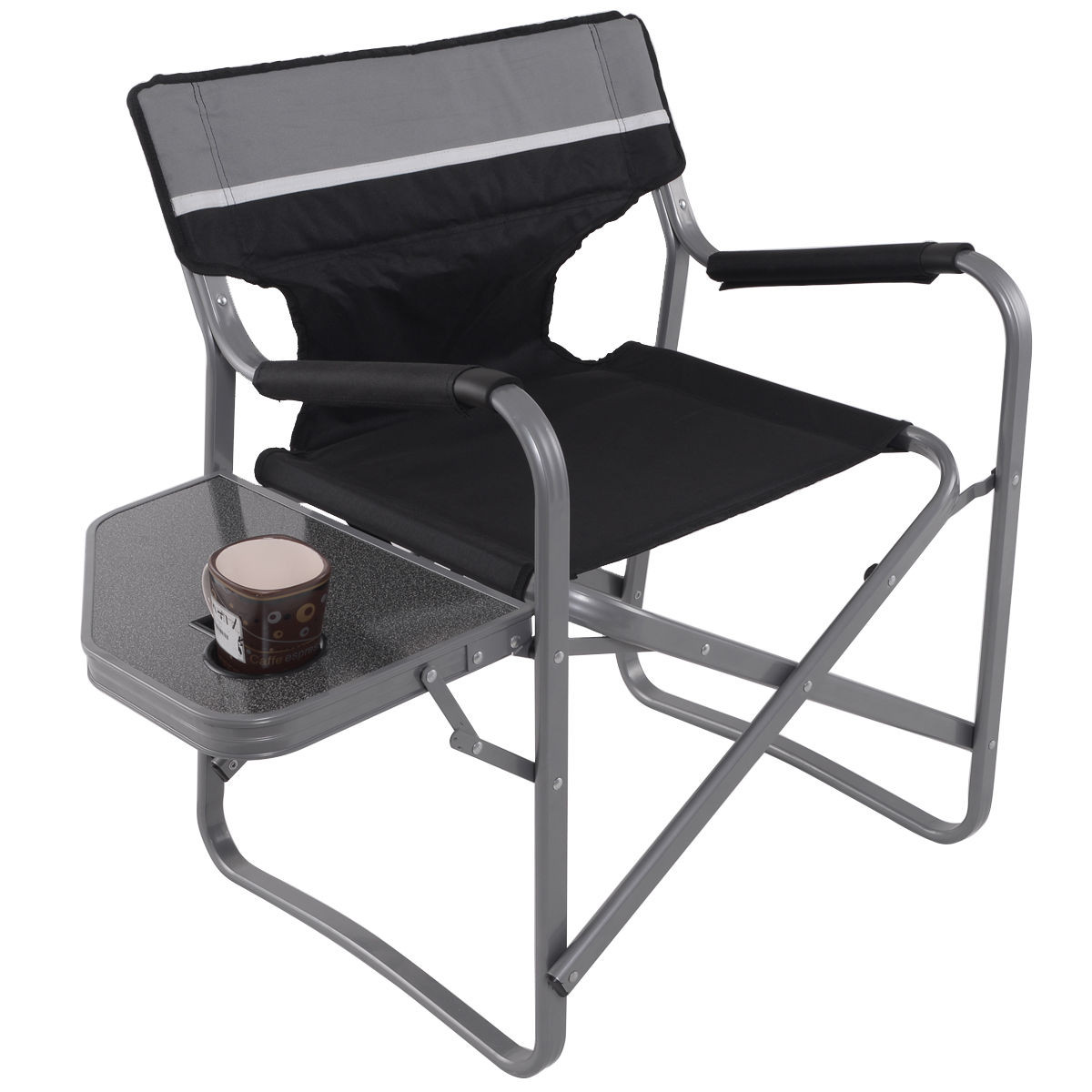 folding directors chairs high back outdoor chair cushions australia camping director 39s with cup holder