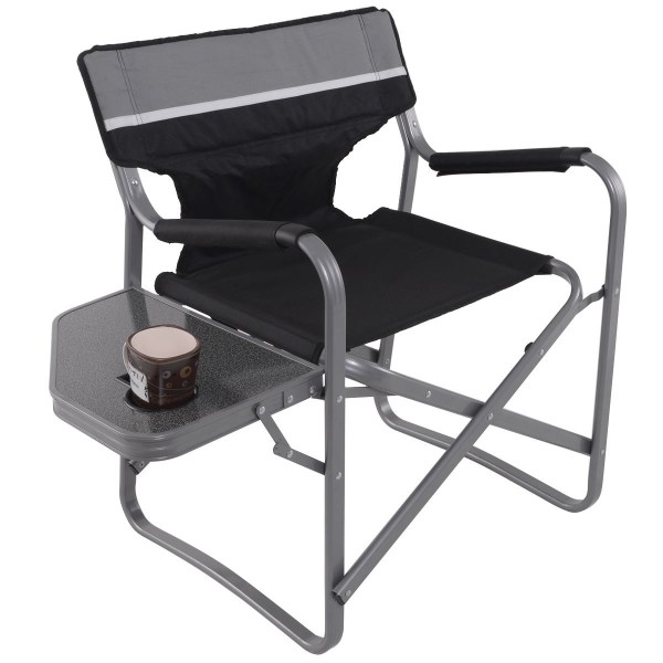 Folding Outdoor Camping Director' Chair With Cup Holder