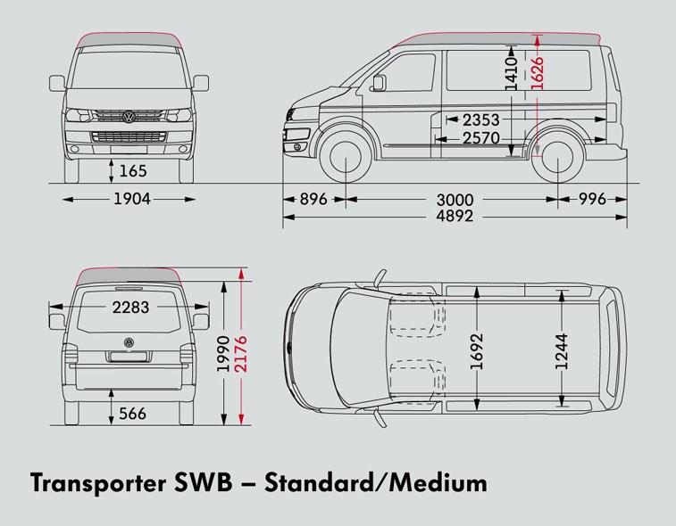 VOLKSWAGEN TRANSPORTER SWB VAN Trucks On Road Trucks 103kW