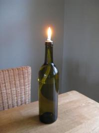 Curbly Video Podcast: How to turn a wine bottle into an