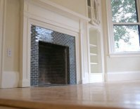 How To: Tile Over a Brick Fireplace  Curbly | DIY Design ...