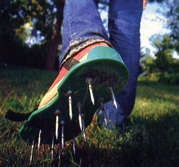 How To Build Lawn Aerator Sandals  Curbly