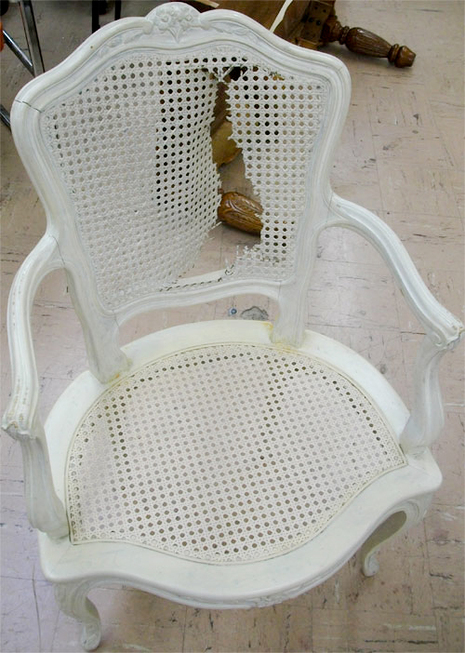 repair rattan chair seat slipper chairs under 100 cane best house interior today how to fix a torn u00bb curbly diy design decor caning