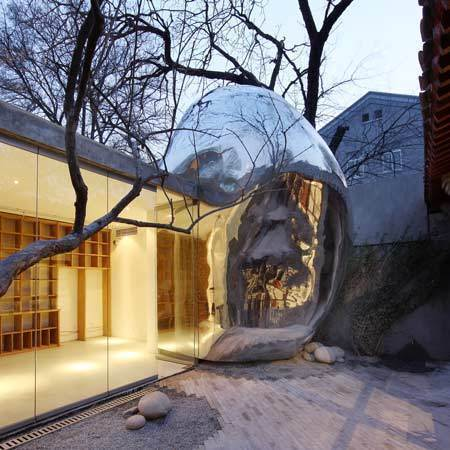 Beijing Hutong Bubble by MAD 28